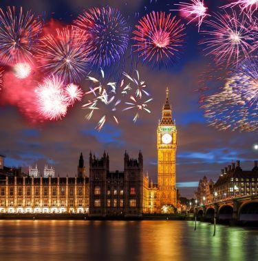 Нова Година - Лондон
